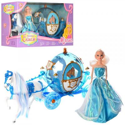 Карета с лошадью и куклой 216 А