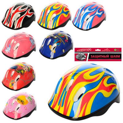 Детский защитный шлем для катания Profi Разные цвета (MS 0014)