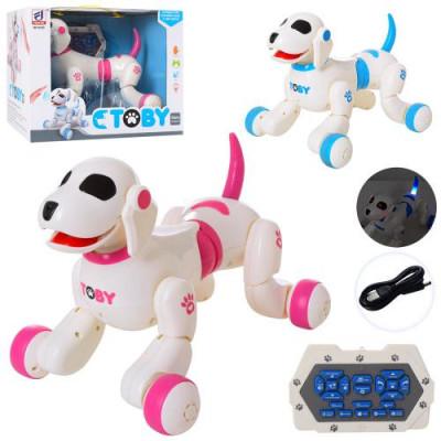 Интерактивная собака робот Bambi Toby на радиоуправлении (8205)