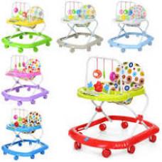 Детские ходунки с подвесными игрушками 0591