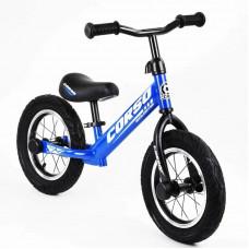 "Беговел - велобег Corso 12"" (Синий)"