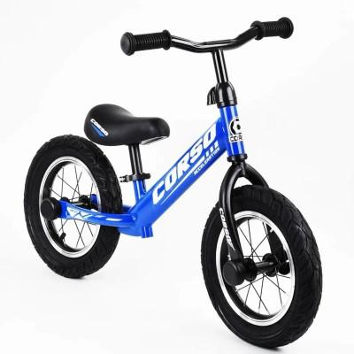 "Беговел - велобег Corso 12"" синий"
