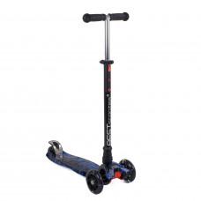 """Самокат """"Best Scooter"""" MAXI, 1528, черный с синим"""