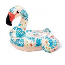 Детский надувной плотик для катания Intex «Фламинго», 142х137х97 см (57559)