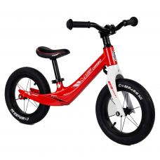 """Велобег Corso 10567 Красный, колесо 12"""", магниевая рама, алюминиевый вынос руля"""