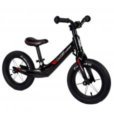 """Велобег Corso 36267 Черный, колесо 12"""", магниевая рама, алюминиевый вынос руля"""