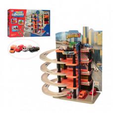 "Паркинг-гараж ""Мега Парковка"" Limo toy 0848 (5 этажей) 4 машинки"
