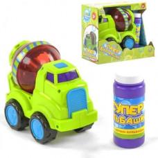Установка Машинка-Бетономешалка с мыльными пузырями, Toys, 75348