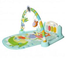 Килимок для малюка з піаніно і підвісками, зі звуковими ефектами, в коробці, 9912 NК