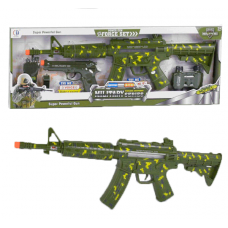 Военный набор СН 920 A-6 свет, звук, вибрация, рация, свисток, бинокль, автомат, пистолет
