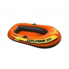 Надувная лодка 58331 Intex Explorer 200, с вёслами и насосом, 185-94-41 см