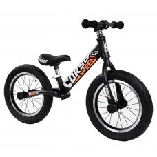 """Велобег 14"""" Corso 53047 Черный стальная рама, колеса надувные резиновые, алюминиевые диски, алюминиевый вынос руля"""