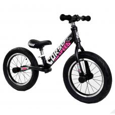 """Велобег 14"""" Corso  24561 Черный стальная рама, колеса надувные резиновые, алюминиевые диски, алюминиевый вынос руля"""
