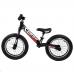 """Велобег 14"""" Corso Черный стальная рама, колеса надувные резиновые, алюминиевые диски, алюминиевый вынос руля (79077)"""