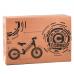 """Велобег 14"""" Corso Черный стальная рама, колеса надувные резиновые, алюминиевые диски, алюминиевый вынос руля (32839)"""
