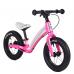 """Велобег Corso """"Prime C7"""" 78753 (Розово-белый), колесо 12"""", магниевая рама, задний ручной тормоз"""