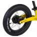 """Велобег Corso """"Prime C7"""" 50457 (Жовто-чорний), колесо 12 """", магнієва рама, задній ручне гальмо"""