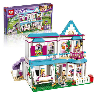 "Детский конструктор Lepin Friends  ""Дом Стефани"" 622 детали, аналог Lego 41314 (01014)"