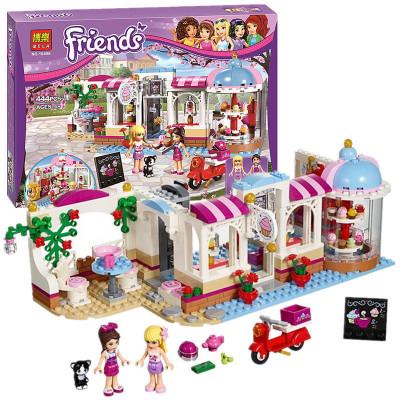 Конструктор Bela Friends Кондитерская 444 деталей, аналог Lego Friends 41119 (10496)