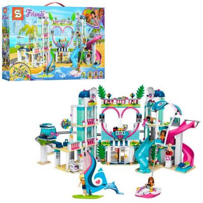 "Конструктор ""Курорт в Хартлейк Сити"" 1150 деталей, аналог Lego Friends (SY1155)"