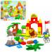 Детский конструктор JDLT Зоопарк 66 деталей (5030)