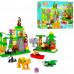 Детский конструктор JDLT Зоопарк 106 деталей (5285)