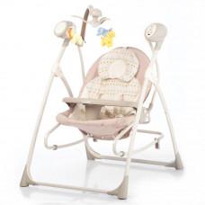 Кресло-качалка CARRELLO Nanny 3в1 CRL-0005 Beige Dot