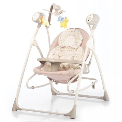 Детское кресло-качалка CARRELLO Nanny 3в1 CRL-0005 Beige Dot