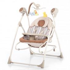 Кресло-качалка CARRELLO Nanny 3в1 CRL-0005 Beige Stripe