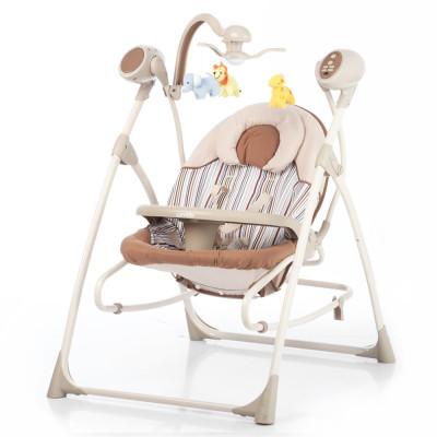 Детское кресло-качалка CARRELLO Nanny 3в1 CRL-0005 Beige Stripe