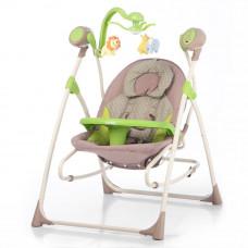 Кресло-качалка CARRELLO Nanny 3в1 CRL-0005 Green Dot