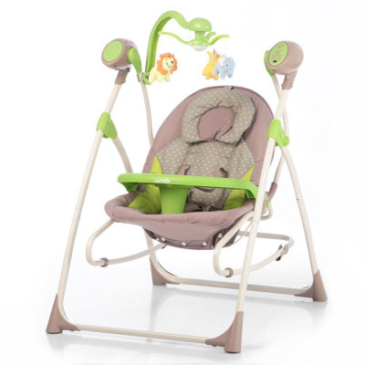 Детское кресло-качалка CARRELLO Nanny 3в1 CRL-0005 Green Dot
