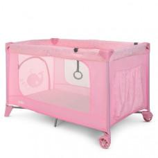 Манеж El Camino, Safe Heart Pink, переносний, 123х64х77 см, ME 1016