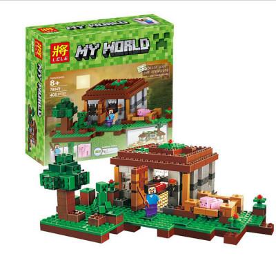 Детский конструктор Bela Minecraft 408 деталей, аналог 79045 (10176)