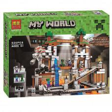 "Конструктор Bela Minecraft ""Шахта"" 926 деталей, арт.10179"