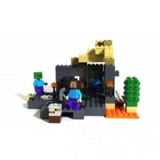 """Конструктор Bela 10390 """"Подземелье"""" Minecraft 219 дет"""