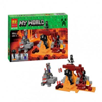 Детский конструктор Bela Minecraft Иссушитель 324 детали, аналог Lego 21126 (10469)