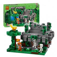 """Конструктор Minecraft Bela 10623 """"Храм в джунглях"""", 604 детали"""