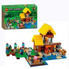 Конструктор Bela Minecraft 10813 Фермерский коттедж 560 деталей