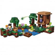 "Конструктор Minecraft Lepin 18027 ""Хижина колдуньи"" 500 деталей"