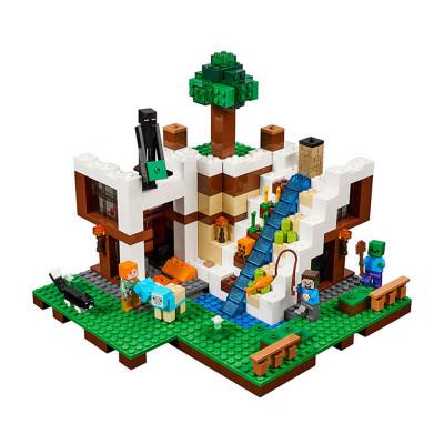 "Детский конструктор Lepin ""База на водопаде"" 568 деталей (18028)"