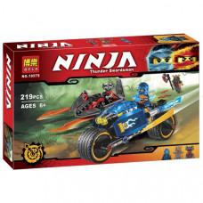 """Конструктор Bela Ninja 10579 """"Пустынная молния"""" 219 деталей"""