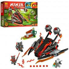 """Конструктор Bela Ninja 10580 """"Алый захватчик"""" 331 деталей"""