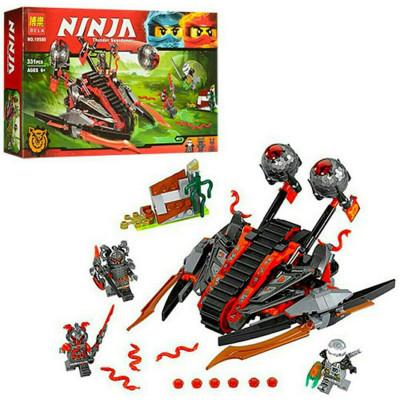 """Детский конструктор Bela Ninja """"Алый захватчик"""" 331 деталей (10580)"""