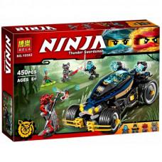"""Конструктор Bela Ninja 10582 """"Самурай VXL"""" 450 деталей"""