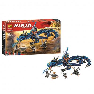 """Детский конструктор Ninja Bela """"Вестник бури"""" 515 деталей, аналог Lego Ninjago 70652 (10936)"""