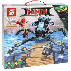 Конструктор Ninja Movie Водяной робот SY928