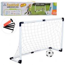 Футбольные ворота Bambi Football, размер 120х40х80 см, 6024