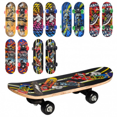 Скейт для малышей Profi Дека 43х13 см (MS 0324-1)