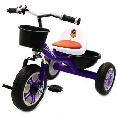 Велосипед трехколесный Best Trike Фиолетовый